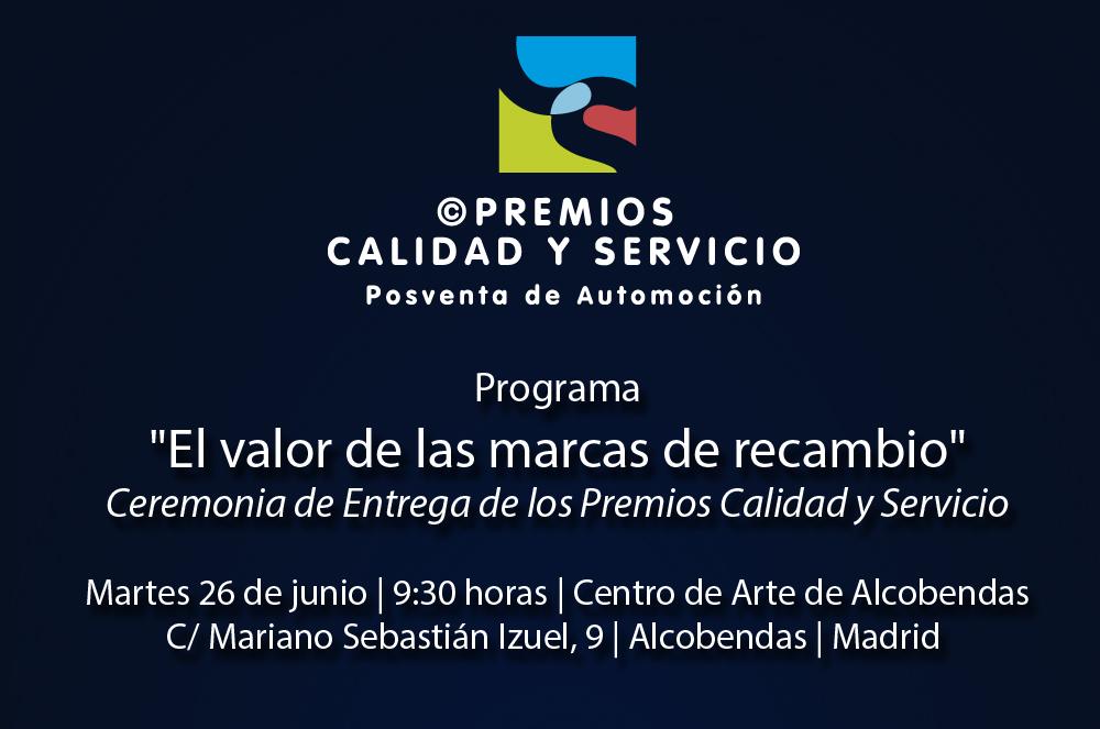 """La iniciativa """"Posventa Plural"""" distinguirá a las 38 marcas de recambio más valoradas por los talleres españoles en una jornada profesional el próximo 26 de junio"""