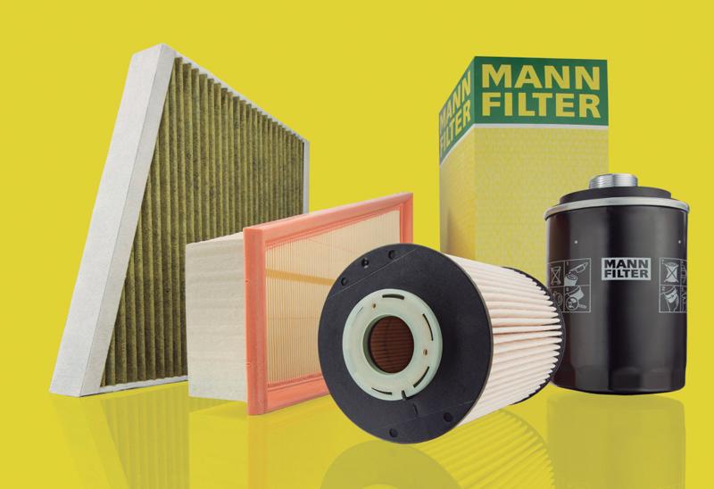Premio Calidad y Servicio Filtros de aire, aceite y combustible MANN-FILTER 2018