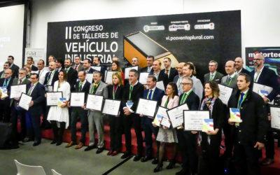 Más de 200 profesionales asisten a la entrega de los Premios Calidad y Servicio a las 37 marcas de recambio y equipamiento más valiosas del V.I.