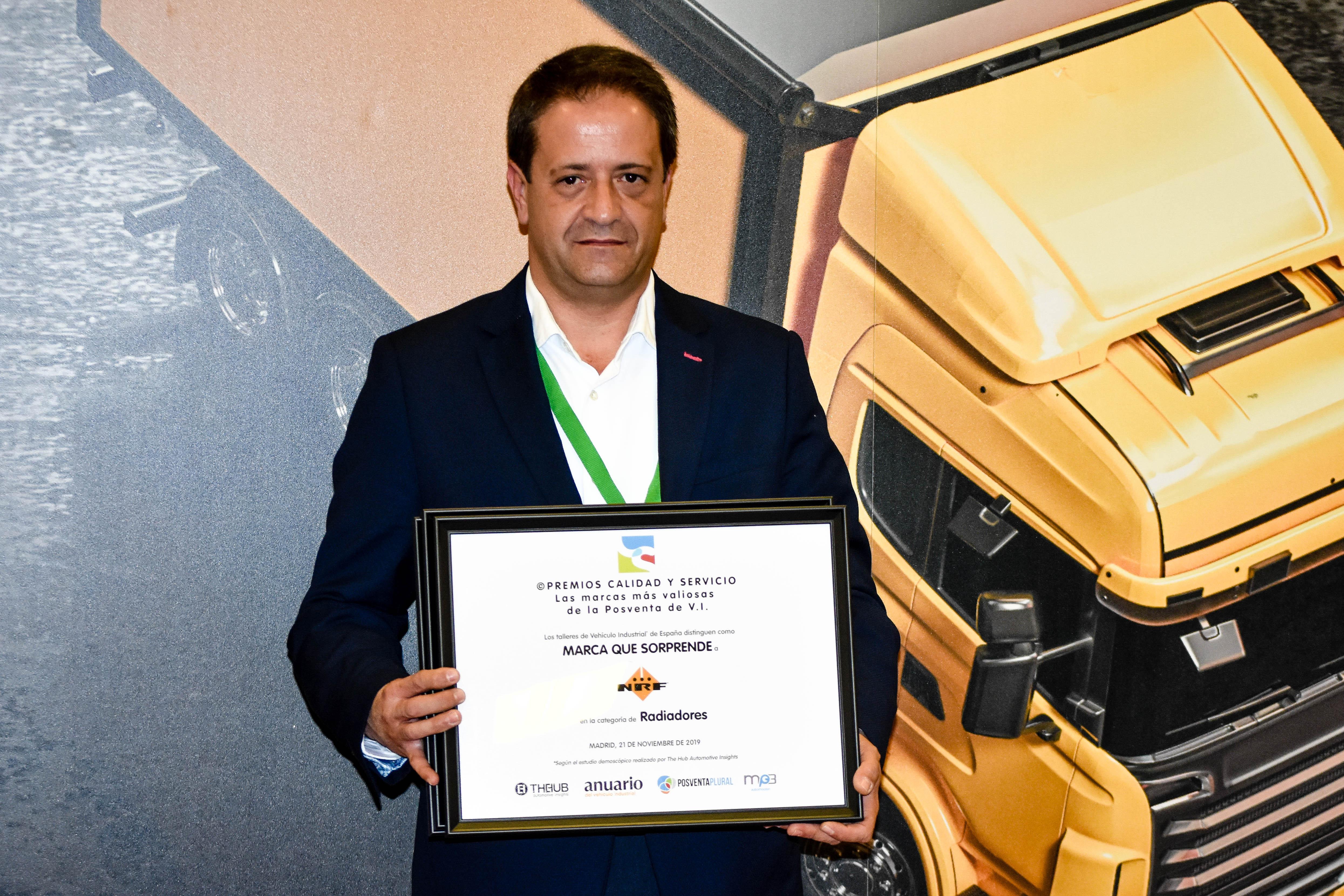 Ganador Premios Calidad y Servicio de la Posventa de Automoción 2019 Marca Que Sorprende | NRF Radiadores