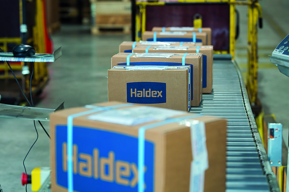 Premio Calidad y Servicio Productos Válvulas de freno Haldex